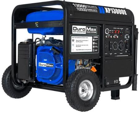 XP13000E Portable Gas Electric Start Generator with 13000 Watts  Low Oil Shutoff  Idle Control and 20 HP