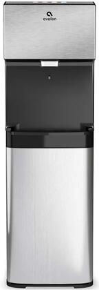 A13 12″ Bottless Water Dispenser with Electronic Controls  Hot  Cold and Cool Water  Dual Filtration and Self Cleaning in Stainless