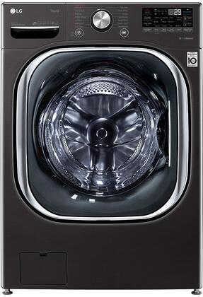 LG  WM4500HBA Washer Black, WM4500HBA Front Load Washer