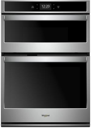 Whirlpool WOC75EC0HS Double Wall Oven Stainless Steel, Main Image