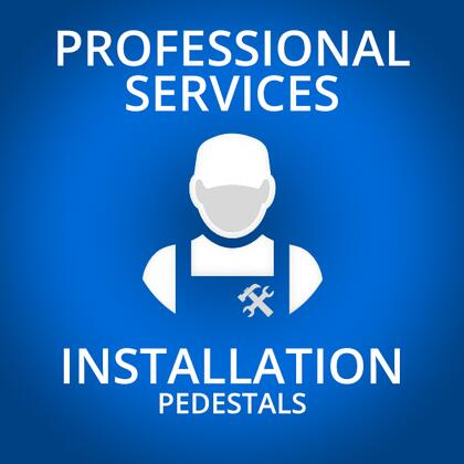 Professional Service PEDESTALSINSTALLATION