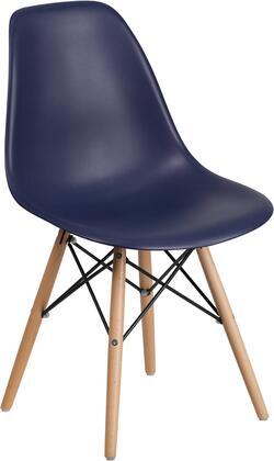 Flash Furniture Elon FH130DPPNYGG Dining Room Chair Blue, FH 130 DPP NY GG