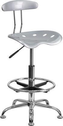 Flash Furniture  LF215SILVERGG Office Chair Silver, 1