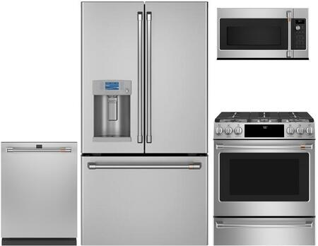 Cafe  1054649 Kitchen Appliance Package Stainless Steel, Main image