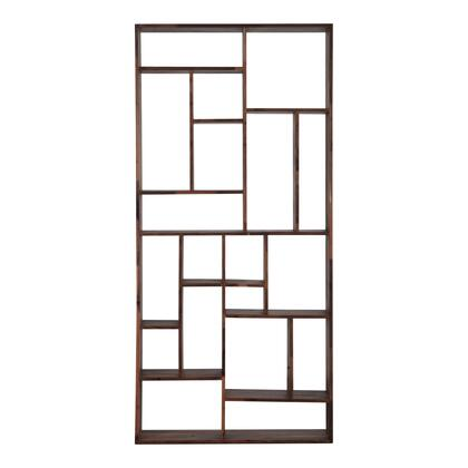 Redemption Collection BC-1025-03 Shelf with Solid Walnut Wood in Brown