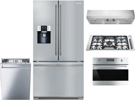 Smeg 1054409 Kitchen Appliance Package & Bundle Stainless Steel, main image