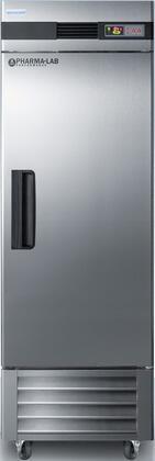 AccuCold  ARS23ML Freezerless Refrigerator Stainless Steel, ARS23ML Upright Pharmacy Refrigerator