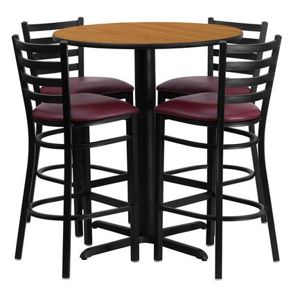 Flash Furniture  HDBF1027GG Dining Room Set Brown, Main Image