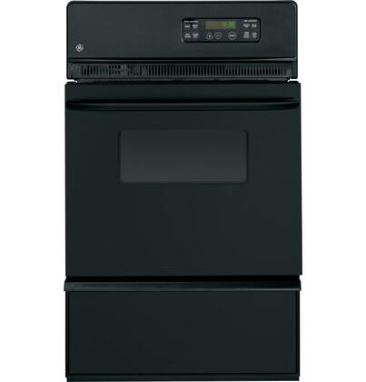 GE JGRP20BEJBB Single Wall Oven Black, Main Image