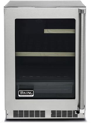 Viking 5 Series VRUI5240GLSS Beverage Center Stainless Steel, Main Image