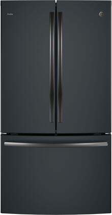 GE PWE23KELDS Black Slate Profile Series ENERGY STAR 23.1 Cu. Ft. Counter-Depth French-Door Refrigerator