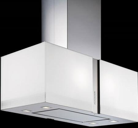 Futuro Futuro IS27MURFORTUNALED Island Mount Range Hood White, Main Image