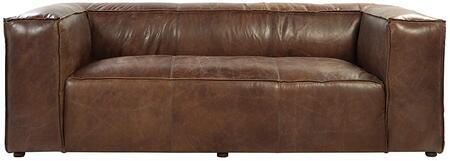 Acme Furniture Brancaster 53545 Stationary Sofa Brown, Sofa
