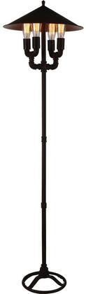 Acme Furniture Coln 40082 Floor Lamp Black, 1