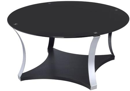 Acme Furniture Geiger 81915 Coffee and Cocktail Table Black, 1