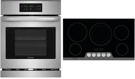 Frigidaire  1033246 Kitchen Appliance Package Stainless Steel, main image