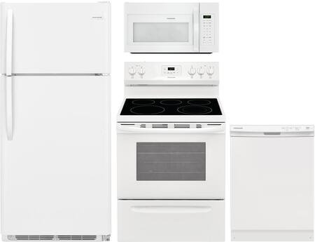 Frigidaire  1311175 Kitchen Appliance Package White, Main image