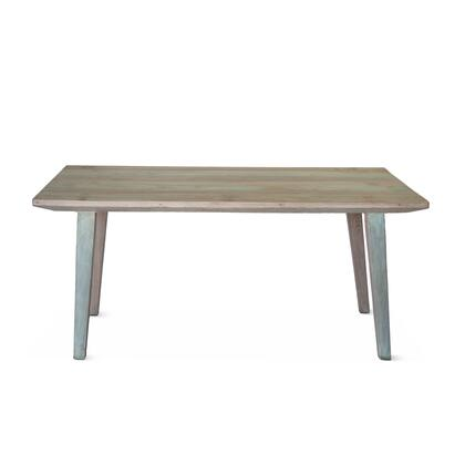 Cordoba Collection ZWCDBDT66 Dining Table in Teal