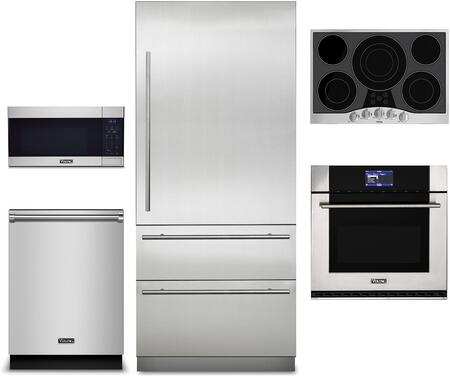 Viking Virtuoso 1310862 Kitchen Appliance Package Stainless Steel, Main image