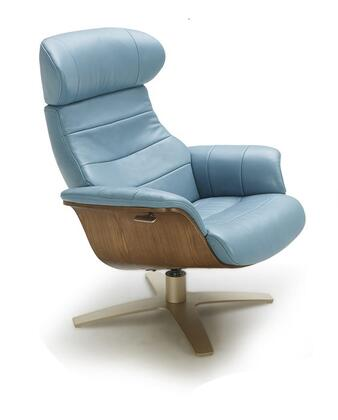 J and M Furniture Karma 180481C Accent Chair Blue, Main Image