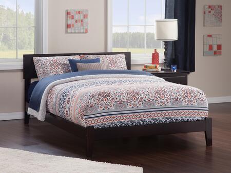 Atlantic Furniture Orlando AR8151031 Bed Brown, AR8151031