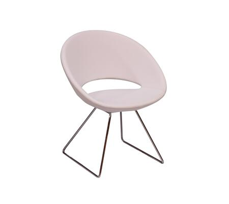 Delancey 100-BT-PN- WEL-CH Sled Chair in