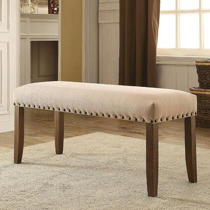Furniture of America Brentford CM3538BN Bench, cm3538bn