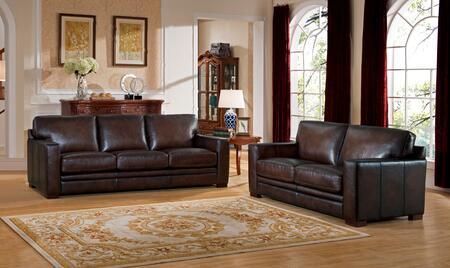 Hydeline Chatsworth CHATSWORTHSL Living Room Set Brown, 1