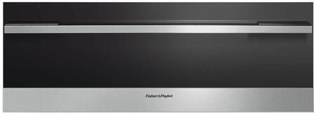 "Fisher Paykel Contemporary OD30WDX2UB Warming Drawer Black, OD30WDX2UB 30"" Warming Drawer"