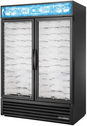 True  GDIM49NTHCTSL01 Ice Merchandiser Black, GDIM49NTHCTSL01 Glass Door Ice Merchandiser