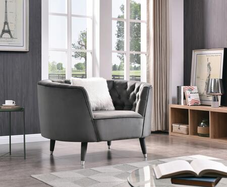Glory Furniture Reno G0710AC Chair Gray, DL e9a6c9b4de50a5b29ae753d5a298