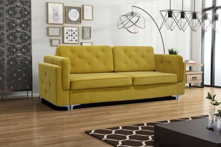 Mohito Collection MOHITO Motion Sofa in Mustard Yellow