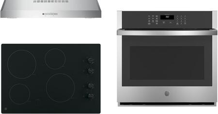 GE  1107721 Kitchen Appliance Package Stainless Steel, Main Image