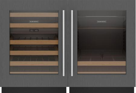 Sub-Zero Designer 1362335 Beverage Center Panel Ready, 1