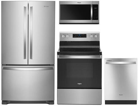 Whirlpool 1135109 Kitchen Appliance Package & Bundle Stainless Steel, main image