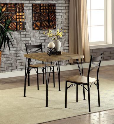 Furniture of America Slingsbury CM3279T293PK Dining Room Set , CM3279T 29 3PK
