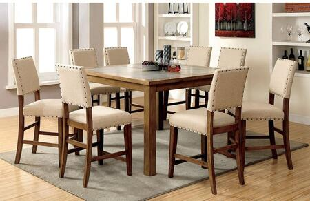 Furniture of America Melston II CM3531PT Dining Room Table , Without Chairs