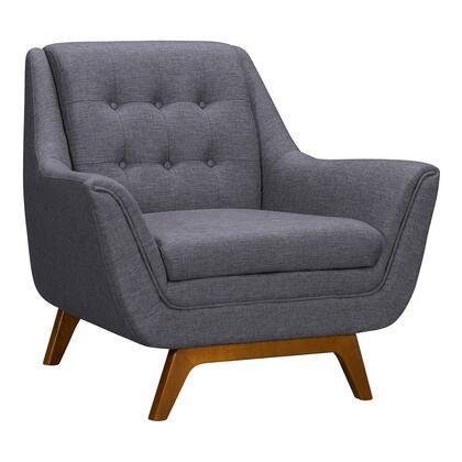 Armen Living Janson LCJO1GR Living Room Chair Gray, LCJO1GR Side