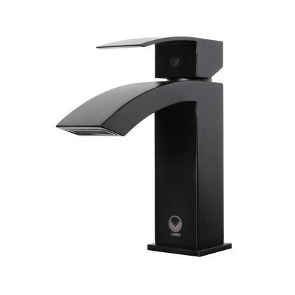 Vigo Satro VG01015MB Faucet Black, Black