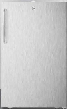 CM411L7SSTBADA 20″ ADA Compliant Compact Refrigerator with 4.1 cu. ft. Capacity  Commercially Listed  Factory Installed Lock and Crisper Drawer in