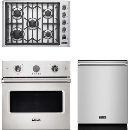 Viking  943537 Kitchen Appliance Package Stainless Steel, main image