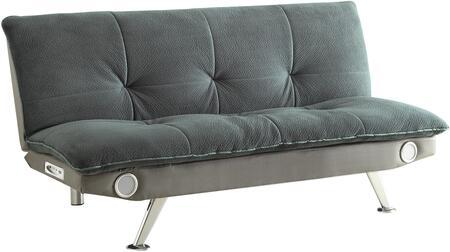Coaster Sofa Beds 500046 Sofa Bed Gray, 1