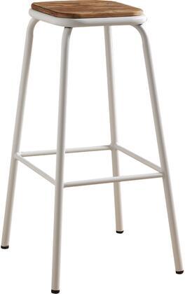 Acme Furniture Scarus 72386 Bar Stool White, 1
