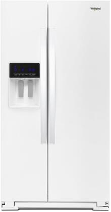 Whirlpool  WRS588FIHW Side-By-Side Refrigerator White, Main Image
