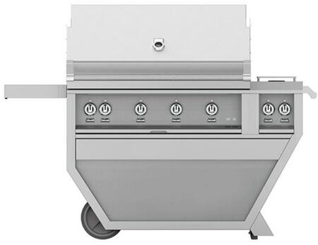 Hestan GMBR42CX2NG Natural Gas Grill, GMBR42CX2NG Front View
