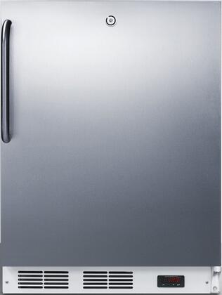 AccuCold  VT65MLBISSTBADA Compact Freezer Stainless Steel, VT65MLBISSTBADA Medical Compact Freezer