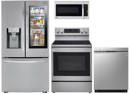 LG  1333049 Kitchen Appliance Package Stainless Steel, Main image