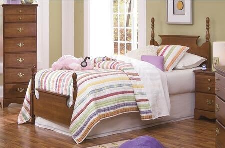 Carolina Furniture Common Sense 15783050FRAME Bed Brown, 1