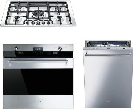 Smeg 1054473 Kitchen Appliance Package & Bundle Stainless Steel, main image