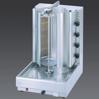 DG16V PAIR Side Doors Stainless Steel for Gyros (1